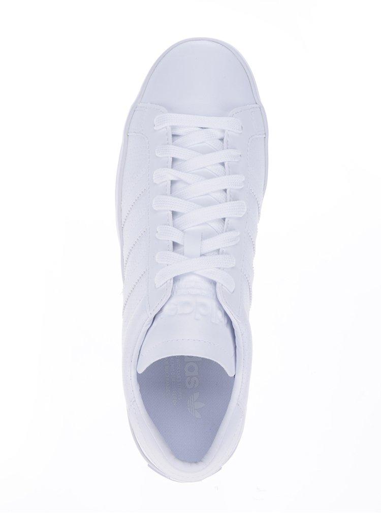 Pantofi albi pentru barbati - adidas Originals Courtvantage