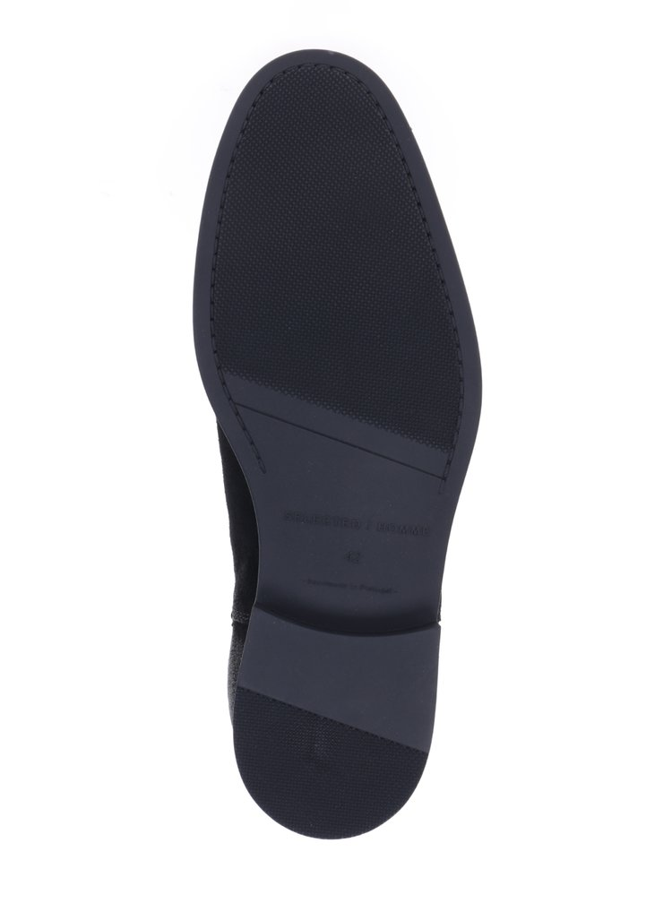 Ghete Chelsea din piele Selected Homme Oliver