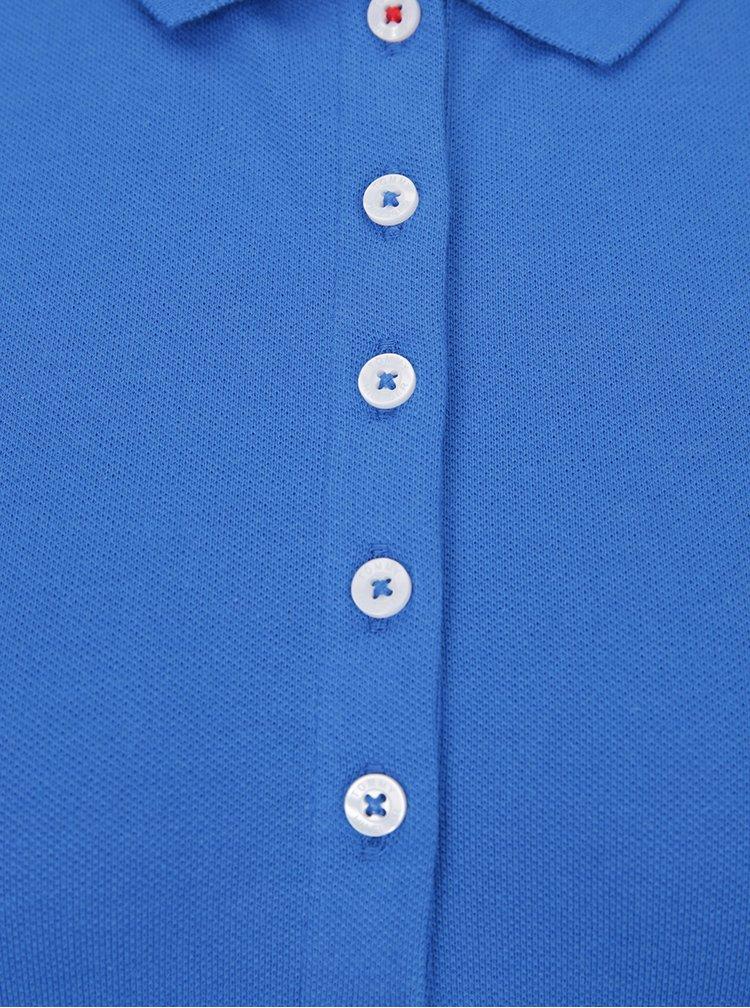 Modré dámské polo tričko Tommy Hilfiger New Chiara