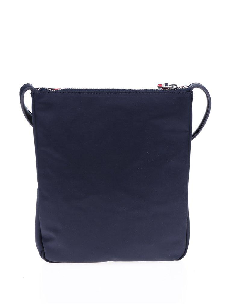 Tmavě modrá crossbody kabelka Tommy Hilfiger Poppy Flat