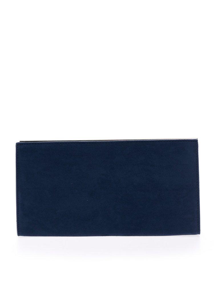 Tmavě modré psaníčko v semišové úpravě Dorothy Perkins