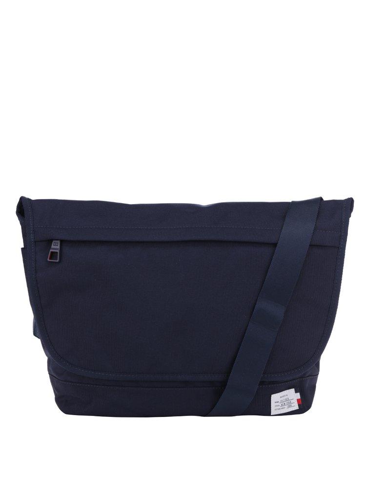 Tmavě modrá pánská taška na notebook Tommy Hilfiger Manhattan