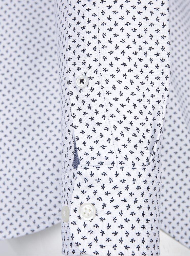 Camasa alba cu imprimeu floral - Jack & Jones Premium Classic