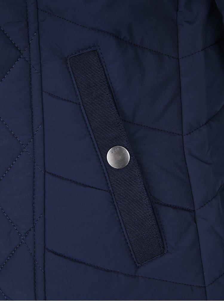 Tmavě modrá prošívaná bunda Jacqueline de Yong Misha