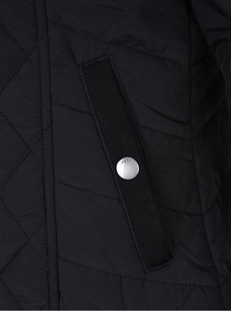 Černá prošívaná bunda Jacqueline de Yong Misha