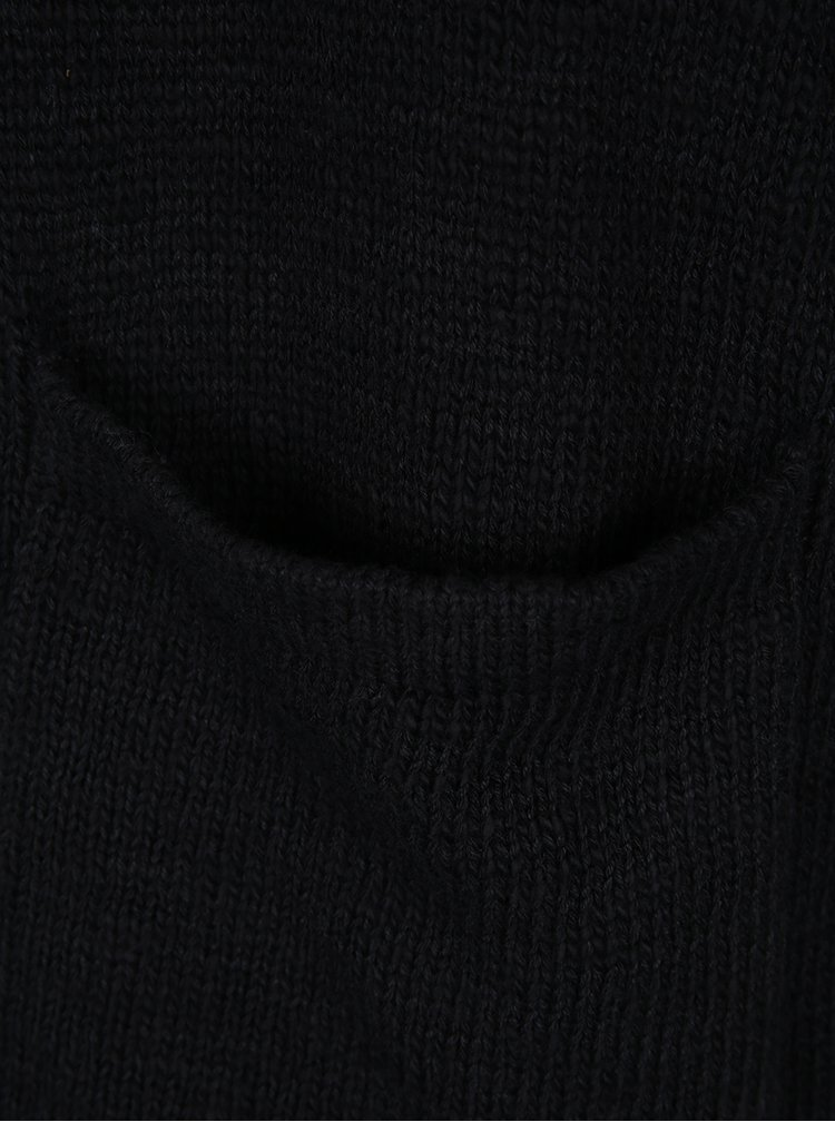 Cardigan negru tricotat cu glugă - ONLY & SONS Jay