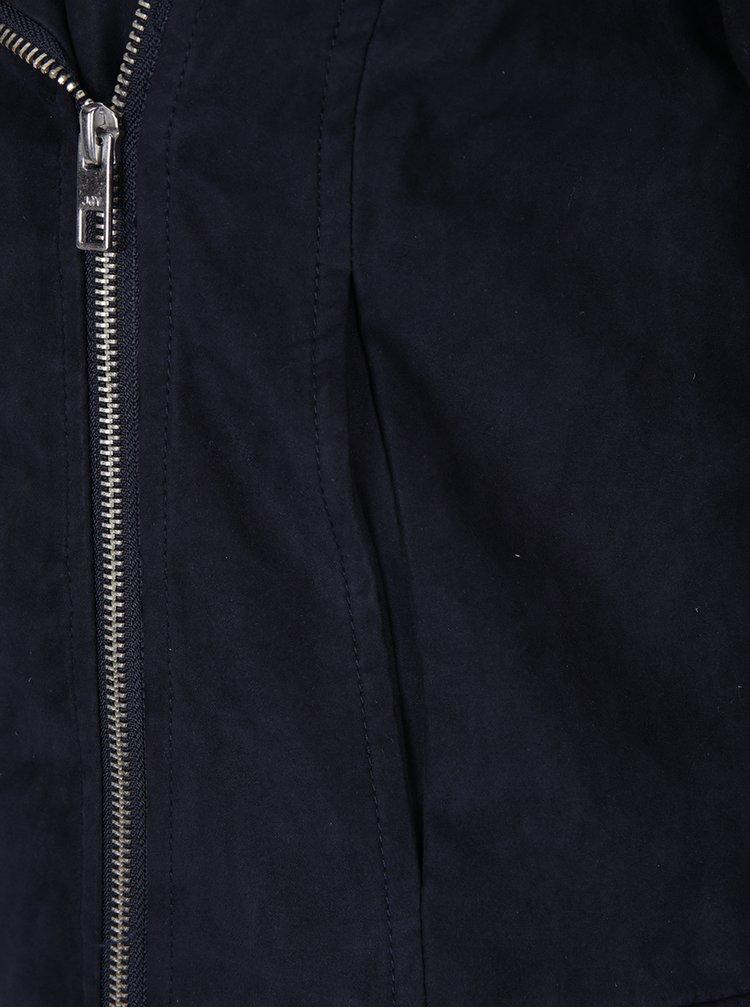 Tmavě modrý křivák v semišové úpravě Jacqueline de Yong Penny