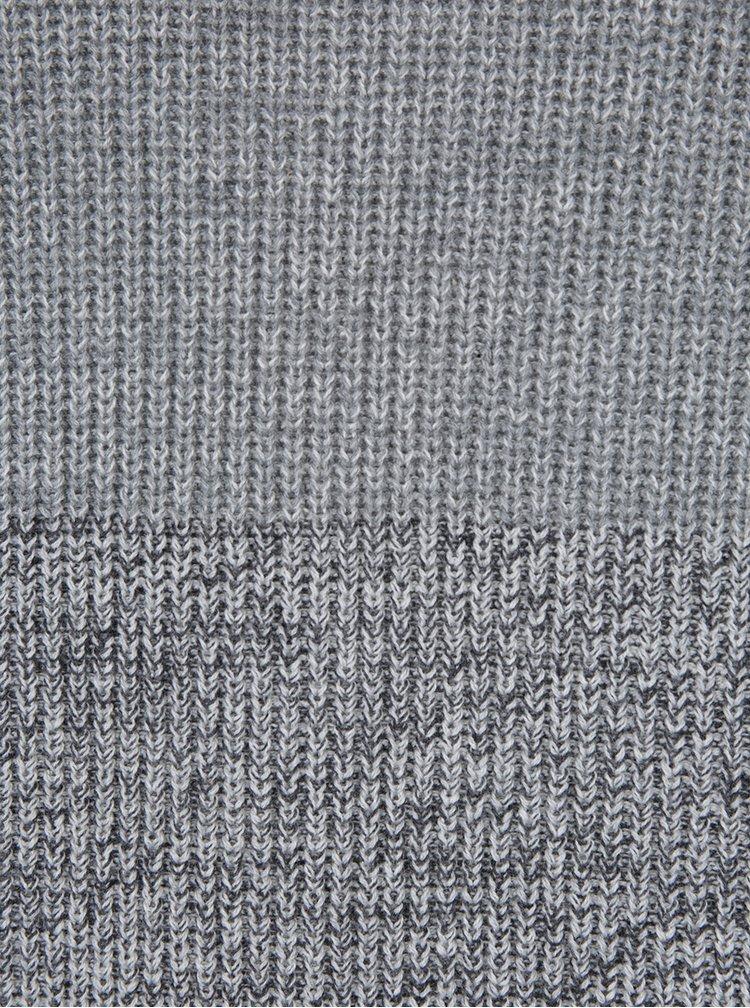 Šedý pruhovaný svetr ONLY & SONS Sato
