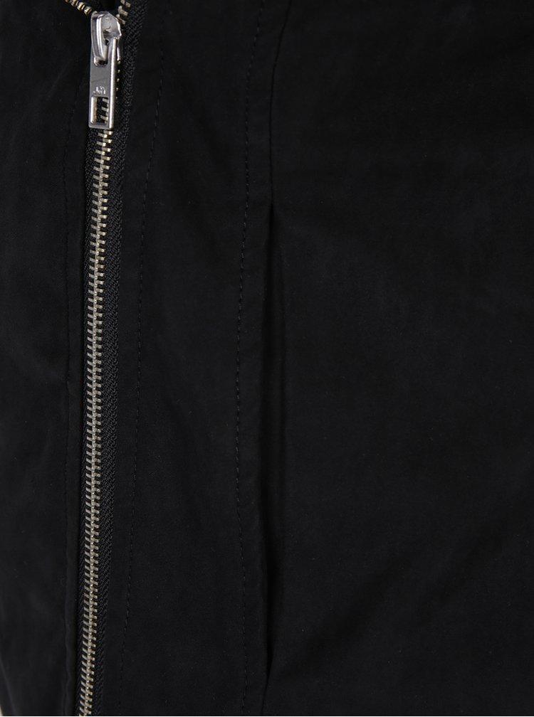 Jacheta scurta neagra cu revere si capse - Jacqueline de Yong Penny