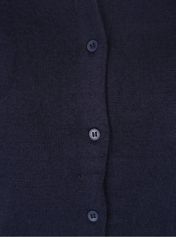 Tmavě modrý cardigan Jacqueline de Yong Favorite