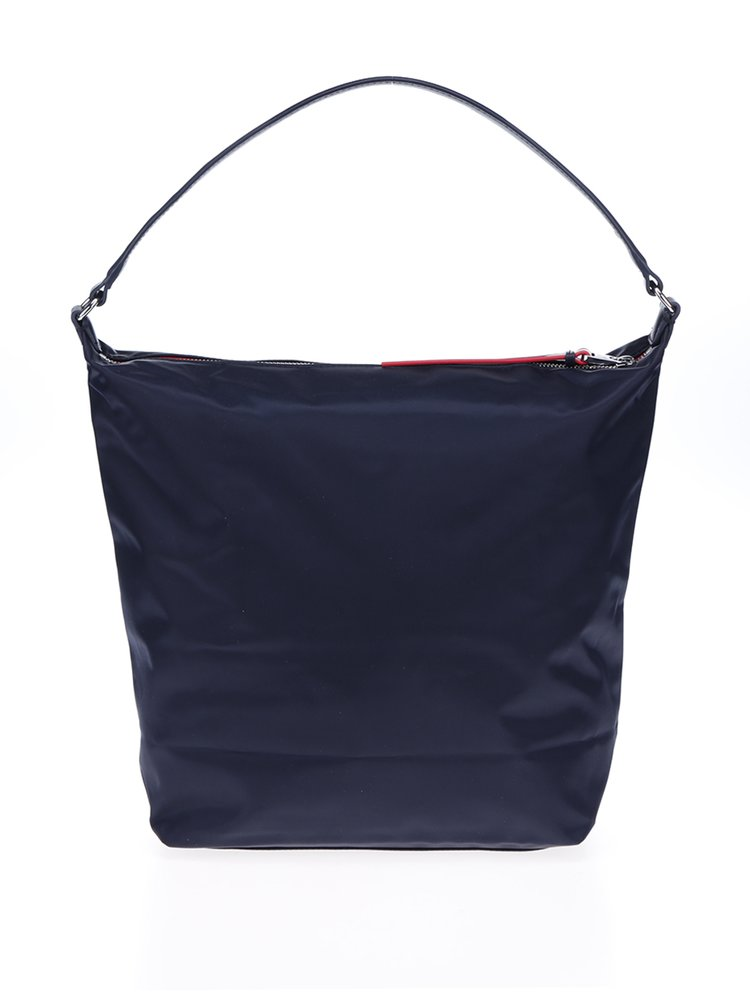 Tmavě modrá kabelka do ruky Tommy Hilfiger Poppy Hobo