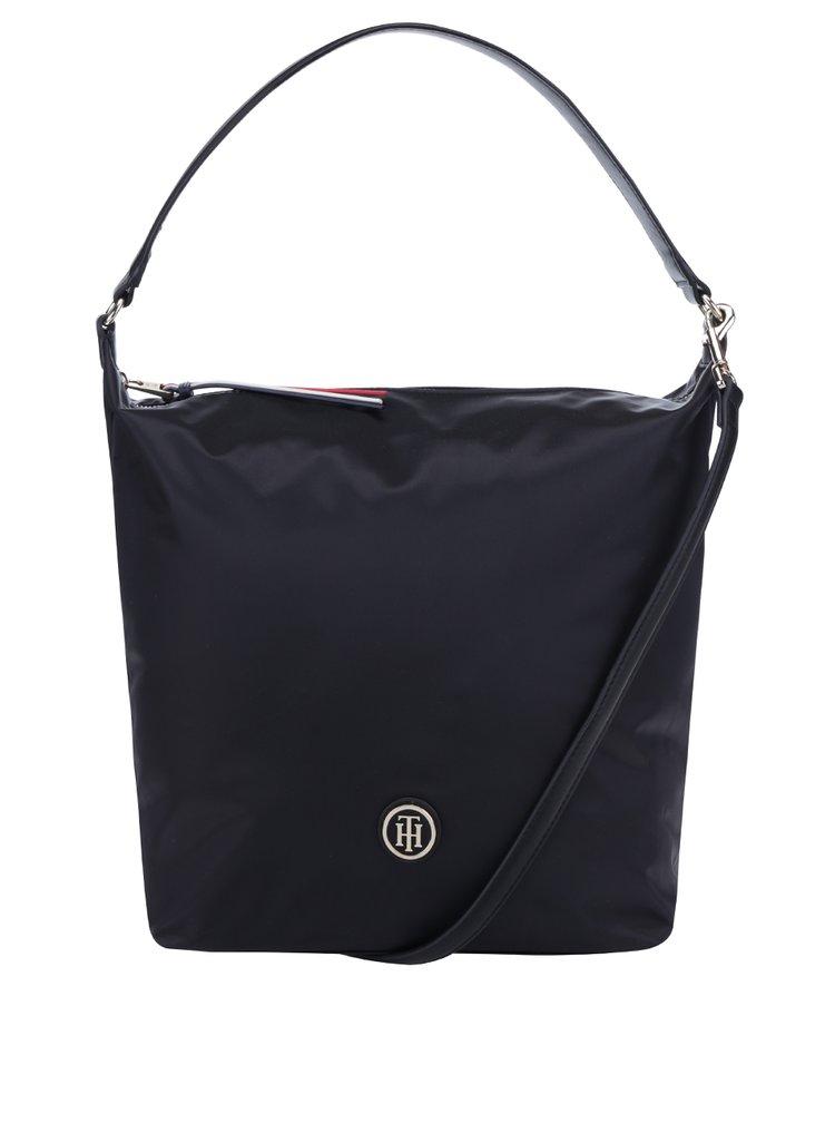 Černá kabelka do ruky Tommy Hilfiger Poppy Hobo