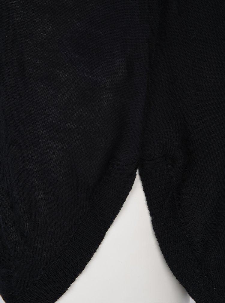 Černý svetr s překříženými pásky na zádech ONLY Sky