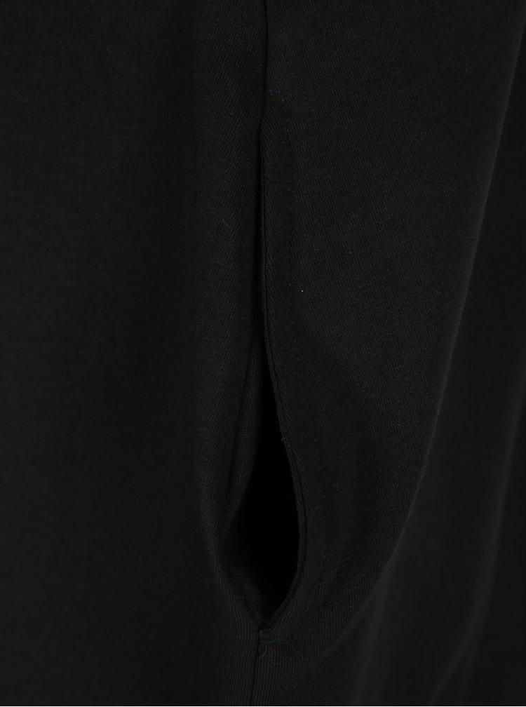 Rochie balon neagra cu print diamant -- Mikela da Luka