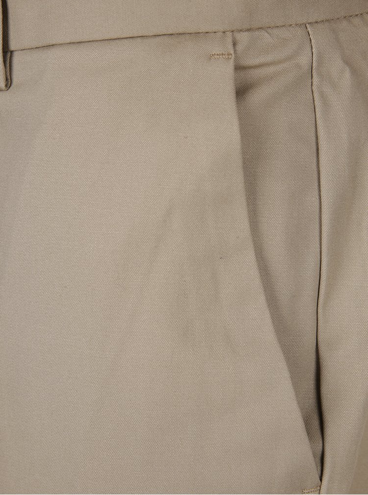 Béžové slim chino nohavice Burton Menswear London