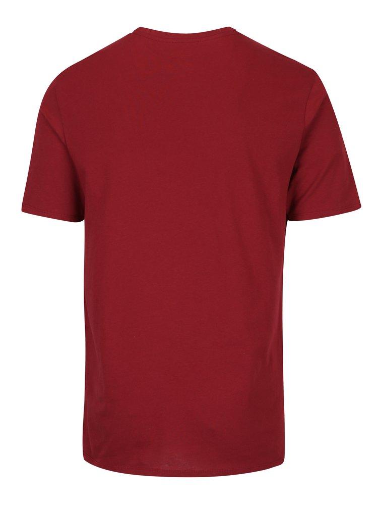 Tricou vișiniu pentru bărbați - Nike