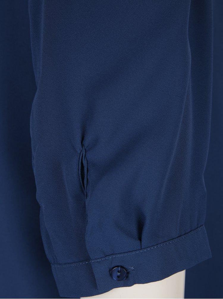 Tmavě modrá těhotenská/kojicí halenka Mama.licious Meliva