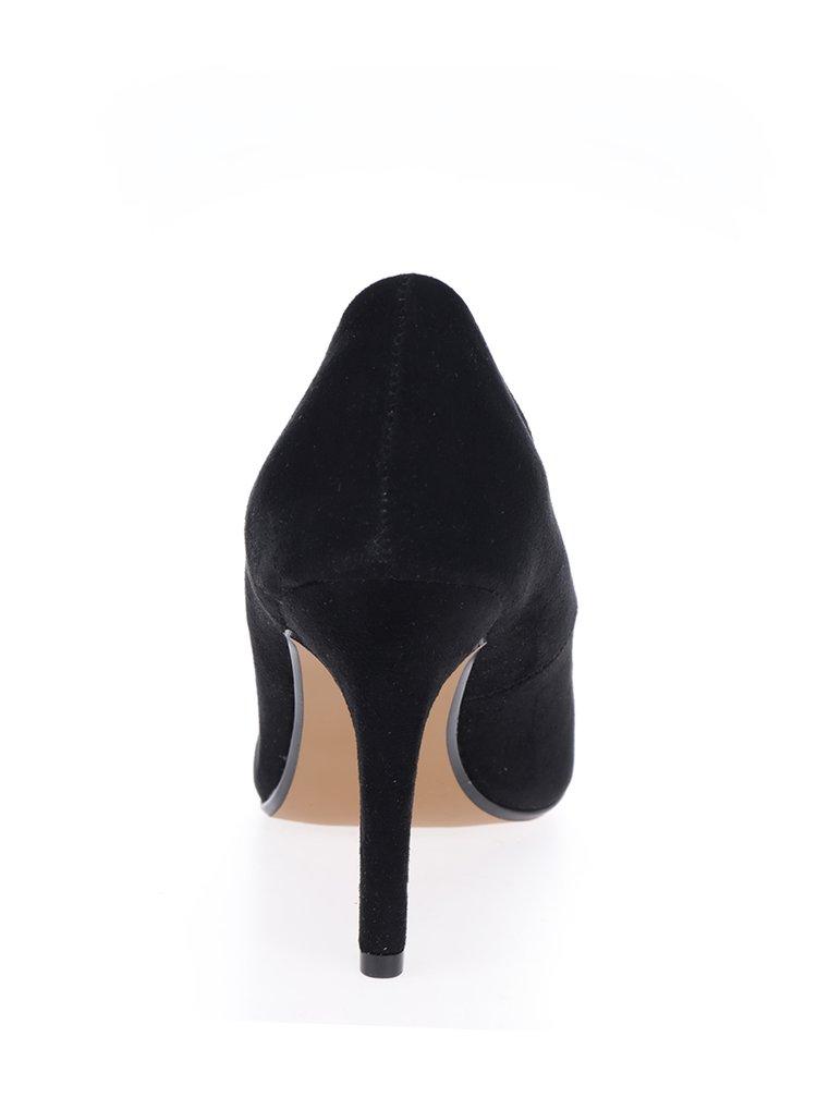 Pantofi stiletto negri cu varf contrastant - Dorothy Perkins
