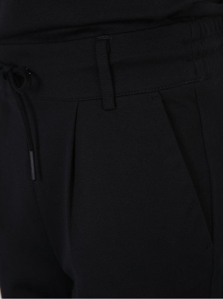 Salopetă neagră cu detalii pe umeri - ONLY Poptrash