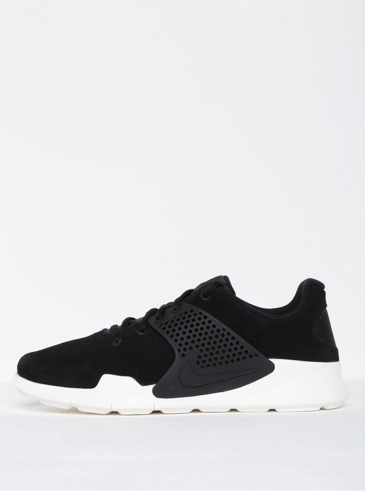 Pantofi sport negri din piele întoarsă - Nike Arrowz