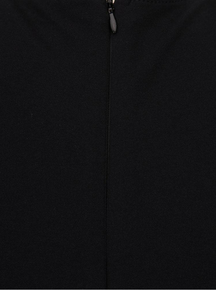 Černé šaty s krajkovými detaily French Connection Lora Beau