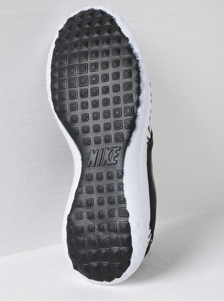 Černo-bílé dámské vzorované tenisky Nike Juvenate SE
