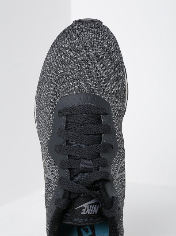 Tmavě šedé žíhané dámské tenisky Nike Mid Runner 2 ENG Mesh