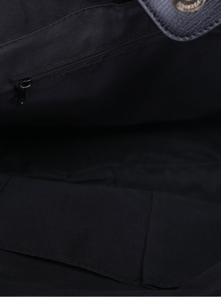 Černá kabelka s detaily ve zlaté barvě Dorothy Perkins