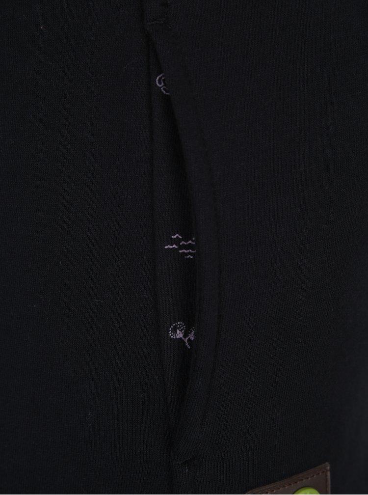 Černá dámská mikina s kapucí Ragwear Chelsea Beat Organic