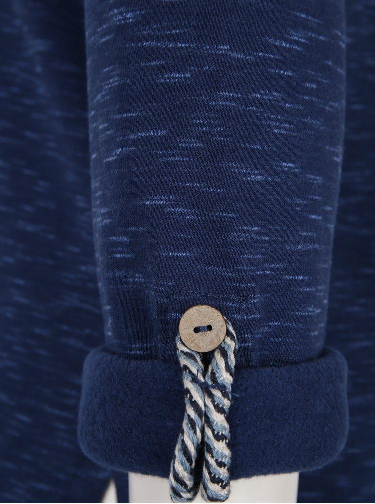 Modrá dámská žíhaná mikina Ragwear Denise