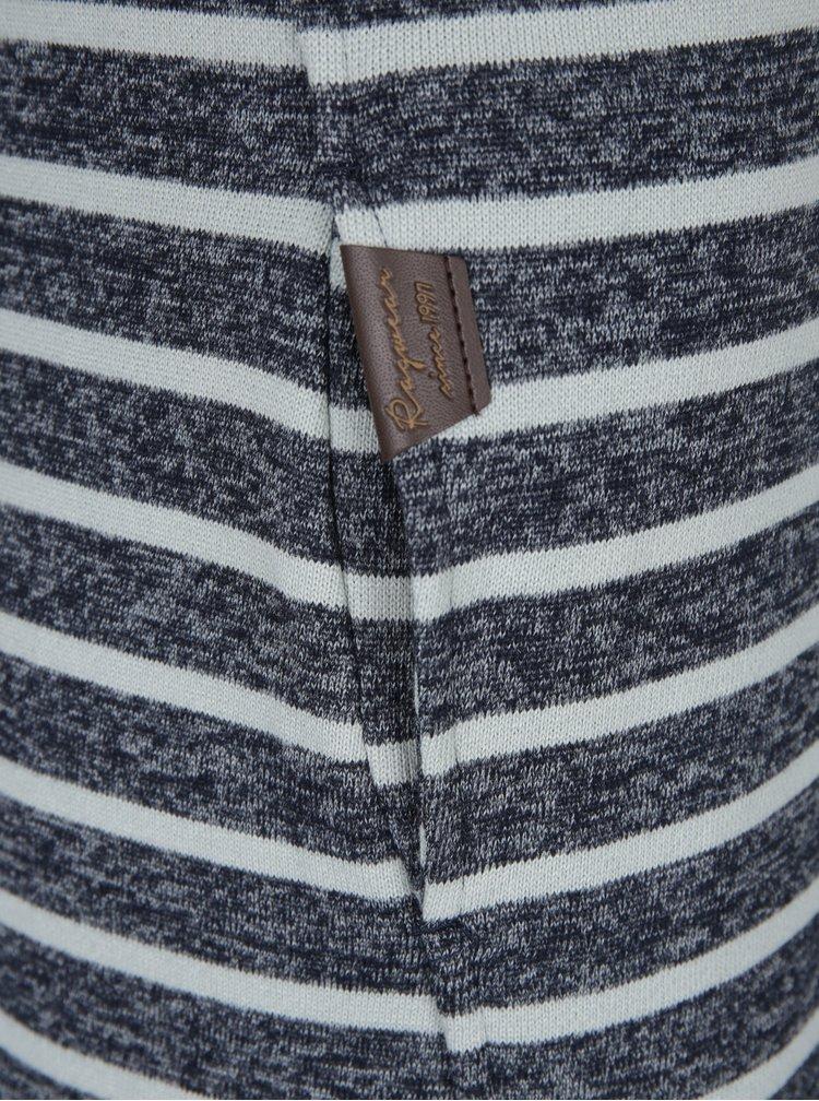 Šedá dámská žíhaná pruhovaná mikina Ragwear Beat Stripes