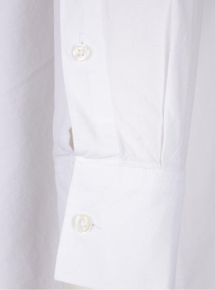 Bílá dámská volná košile s knoflíky na zádech Cheap Monday Behave