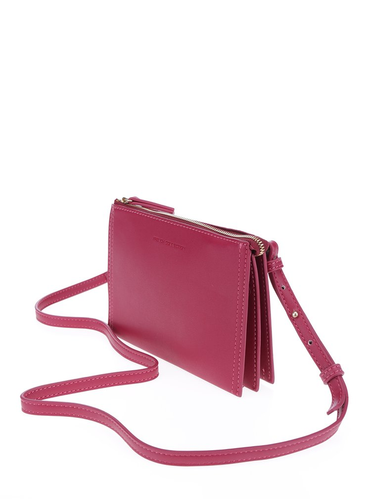 Geantă crossbody roz French Connection Josefina