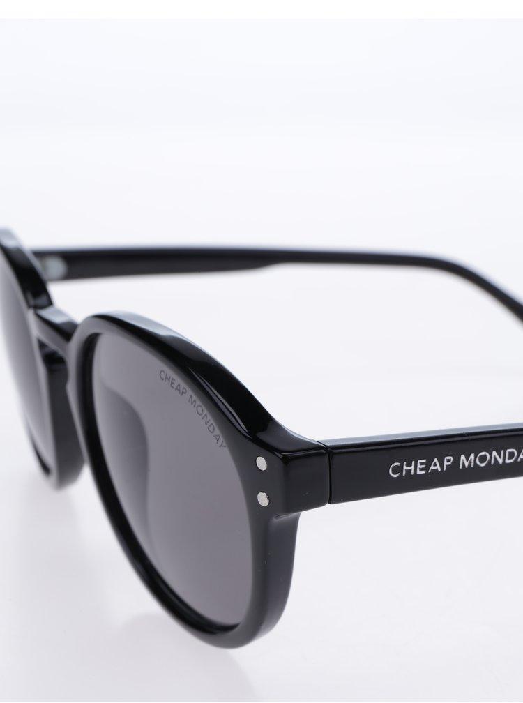 Ochelari de soare negri pentru femei - Cheap Monday Cytric