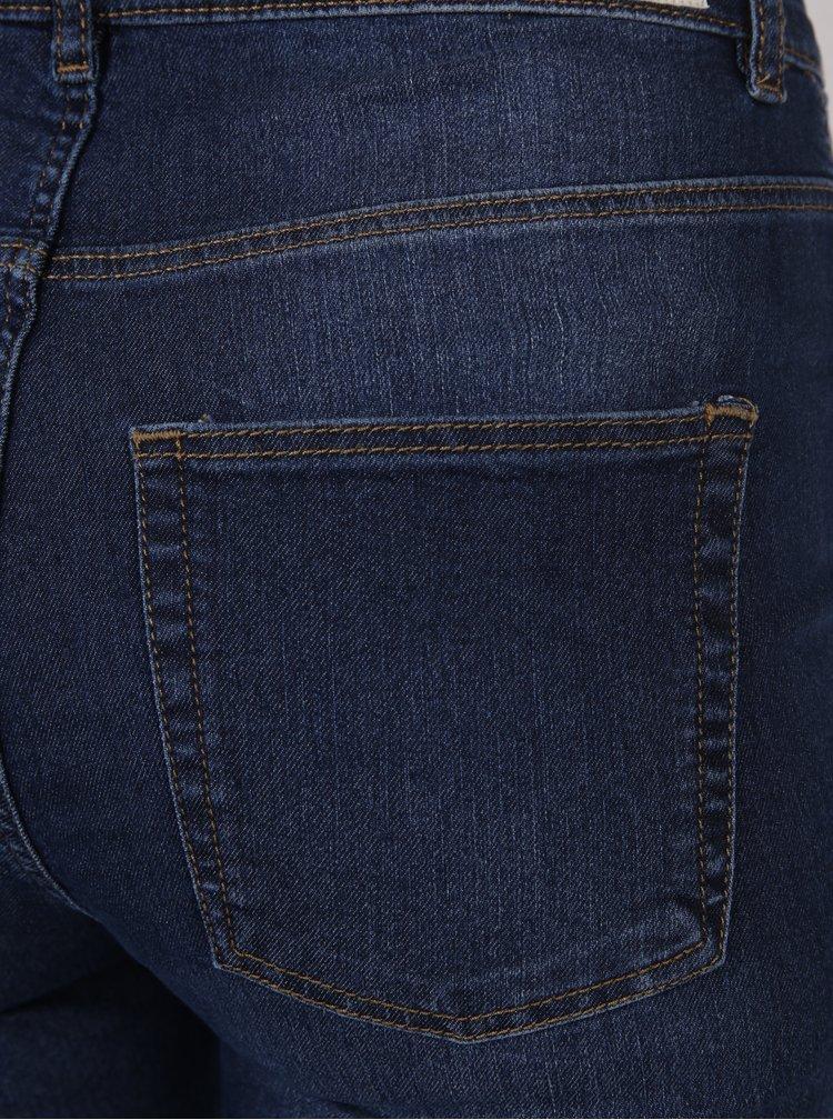 Modré dámské skinny džíny s vysokým pasem Cheap Monday High