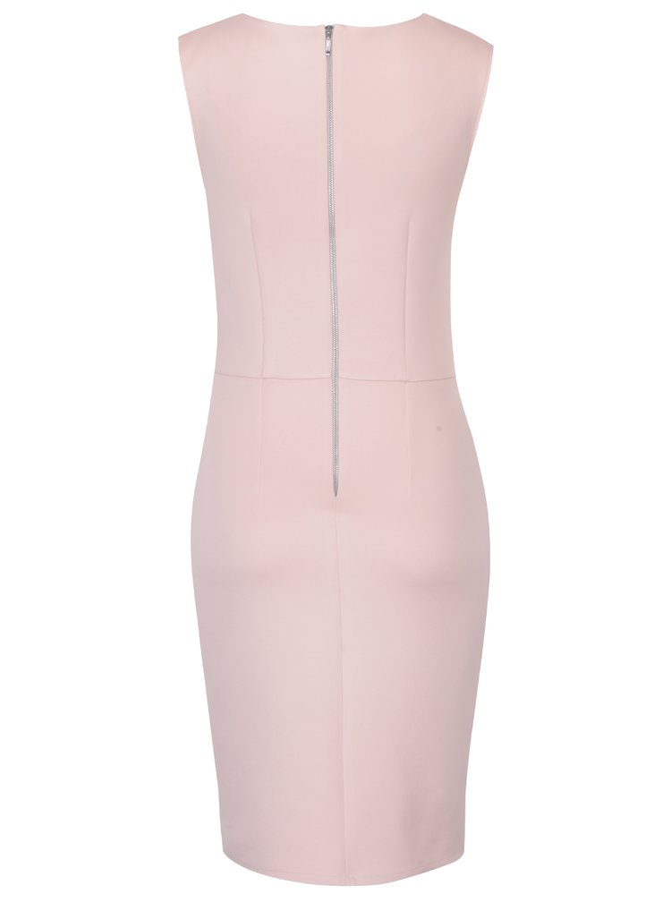 Rochie roz piersică asimetrică Dorothy Perkins Tall