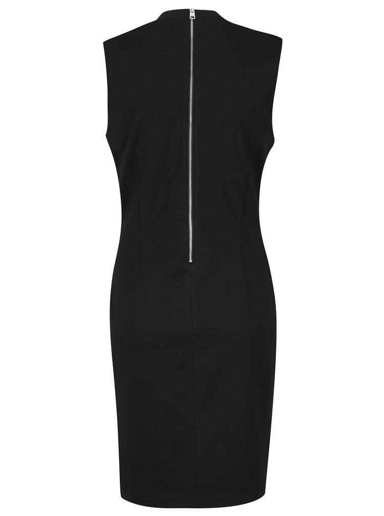 Černé pouzdrové šaty Calvin Klein Jeans Dayas