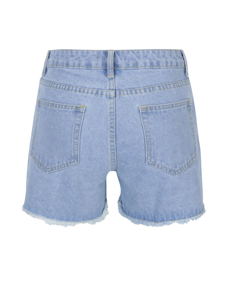 Pantaloni scurți din denim cu ștrasuri și ținte Dorothy Perkins
