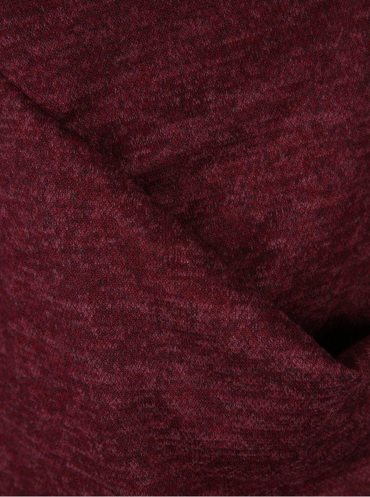 Cardigan lung roșu bordo - Haily´s Liliam