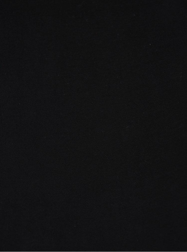 Body negru cu bretele subțiri încrucișate TALLY WEiJL