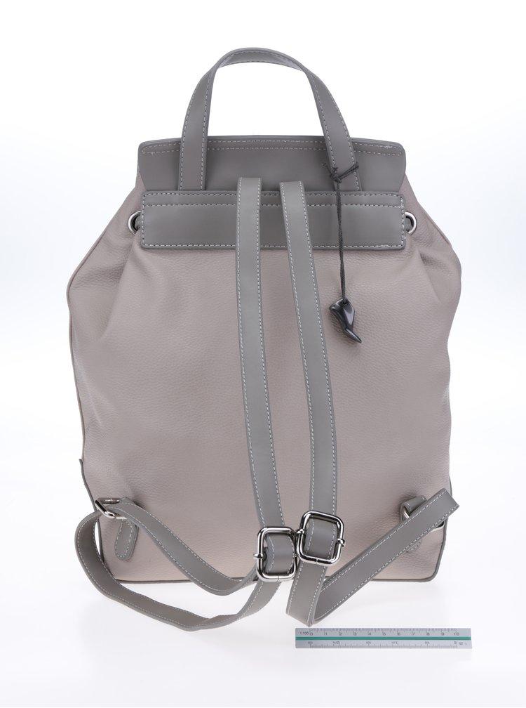 Béžový dámský batoh Clarks Miss Poppy