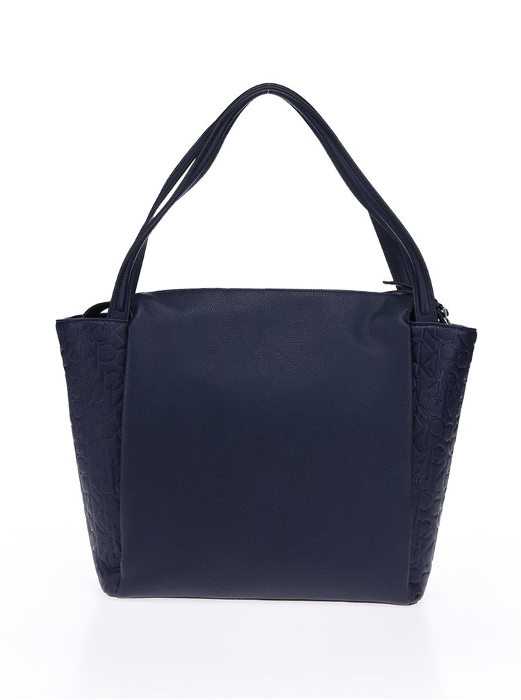 Tmavě modrá kabelka Calvin Klein Jeans Misha