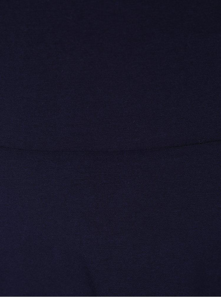 Tmavě modré šaty s 3/4 rukávem Dorothy Perkins