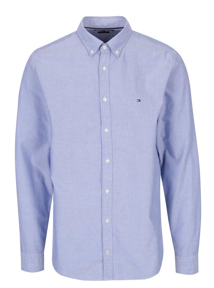 Světle modrá pánská košile Tommy Hilfiger Ivy