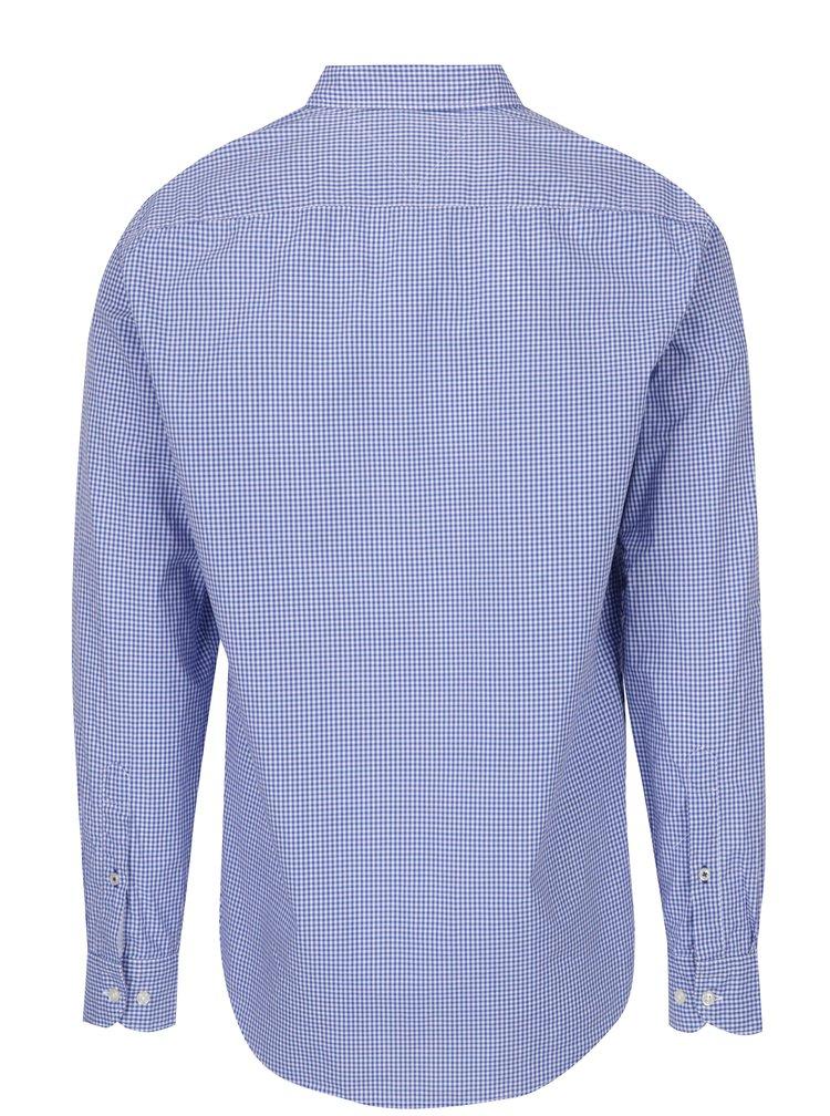 Svetlomodrá pánska kockovaná košeľa Tommy Hilfiger Ivy
