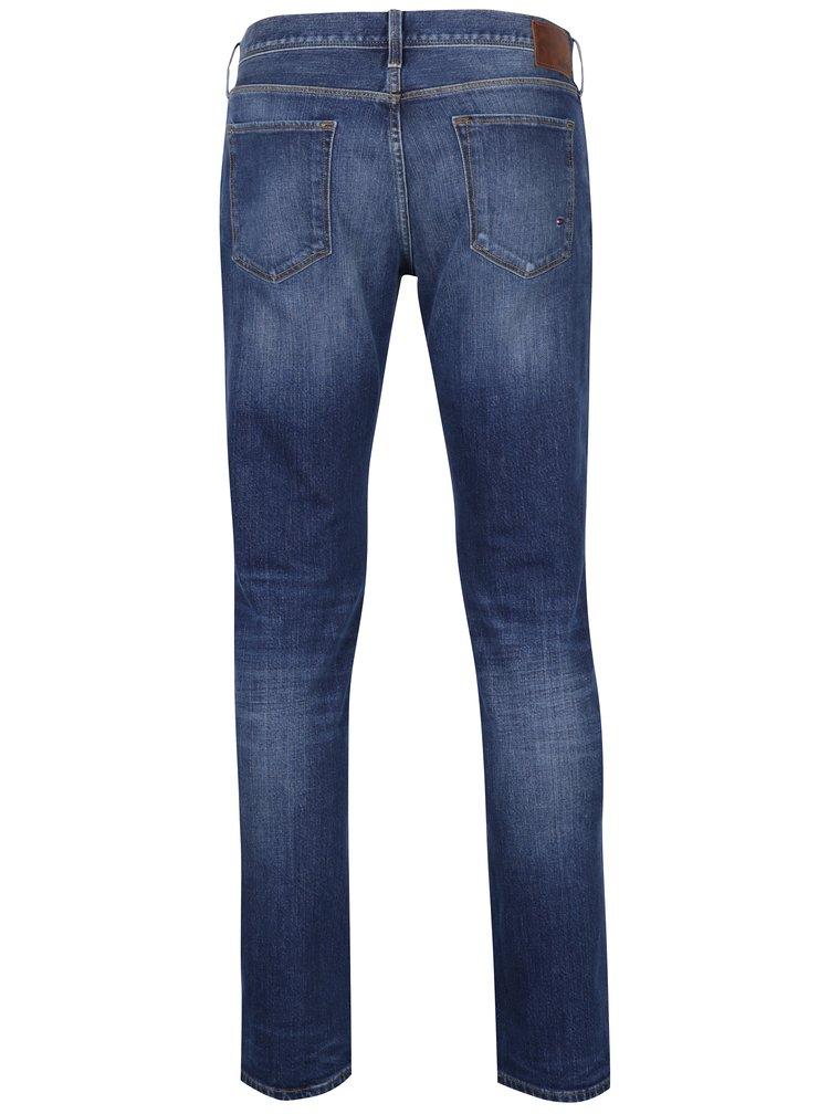 Tmavě modré pánské džíny Tommy Hilfiger Denton