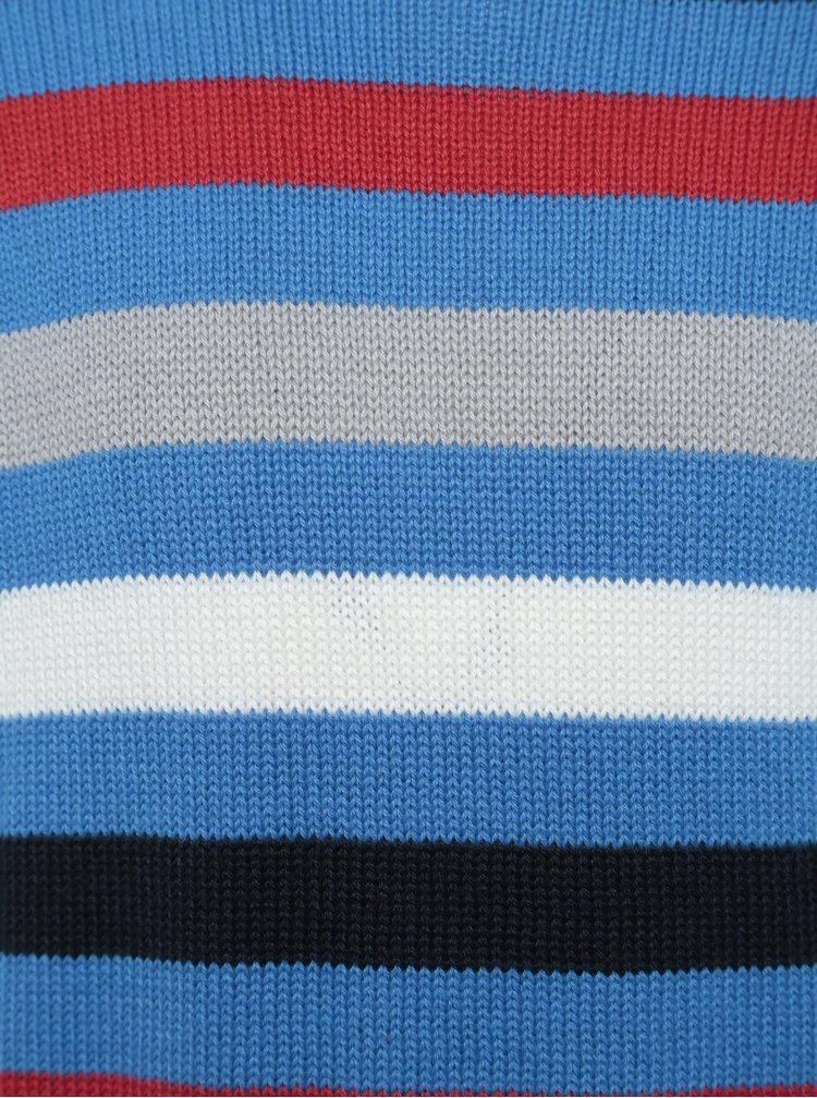 Modrý klučičí pruhovaný svetr Blue Seven