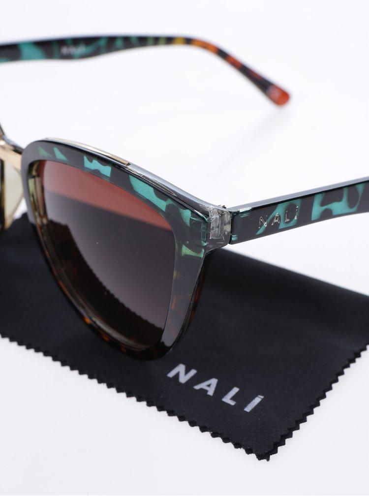 Ochelari de soare cateye cu lentile maro - Nalí
