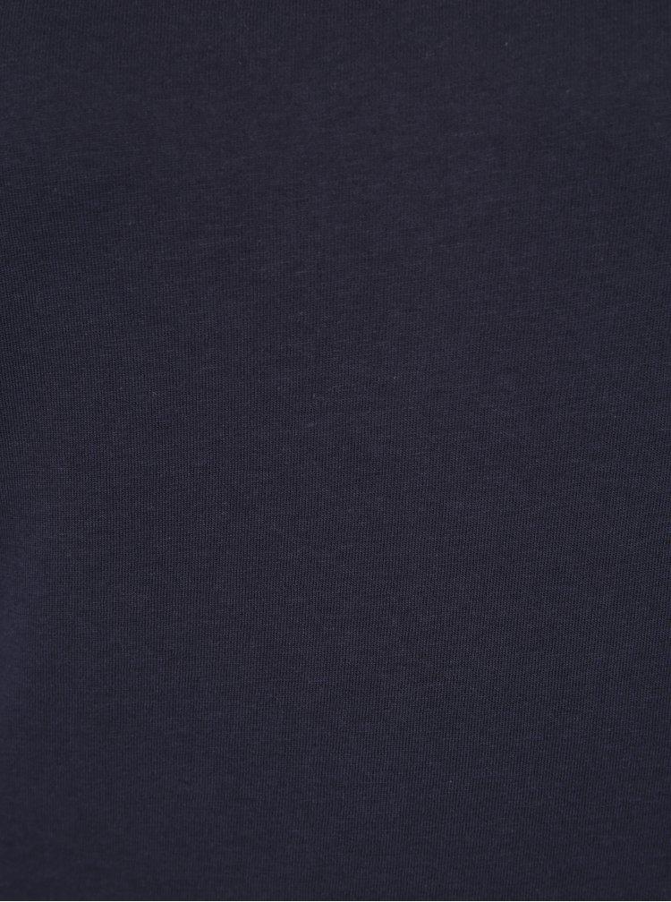 Tricou basic bleumarin din bumbac Haily´s Tari
