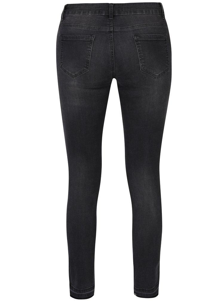 Tmavě šedé regular džíny Haily´s Nadja